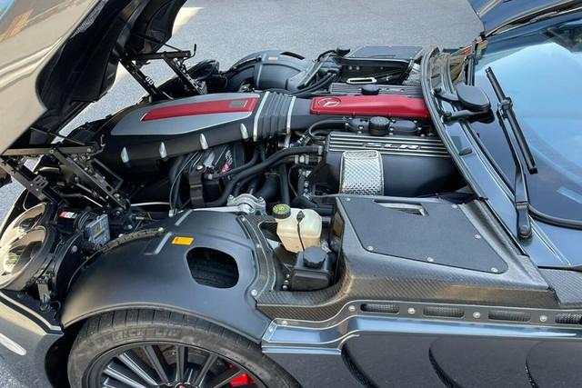 Siêu xe cánh chim Mercedes SLR McLaren 722 bán giá gấp 15 lần mua mới, ngang Bugatti Chiron - Ảnh 6.