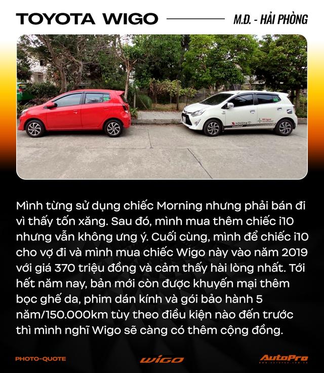 Chủ xe Toyota Wigo khẳng định: 'Không cần xe đẹp, nhiều option, chỉ cần bền' - Ảnh 9.