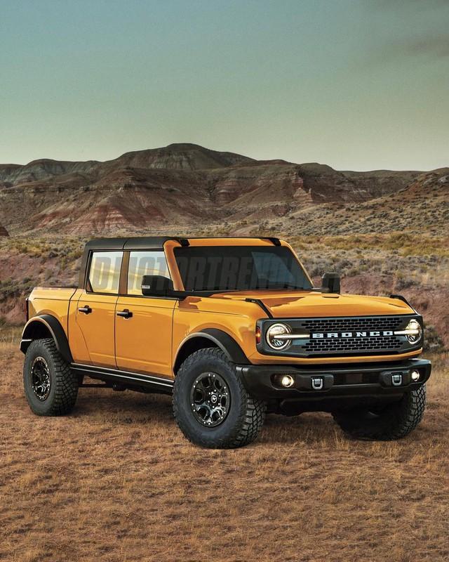 Ford đam mê làm bán tải: Ranger, Raptor, Maverick, F-series chưa đủ mà có thể còn là mẫu xe này nữa - Ảnh 3.