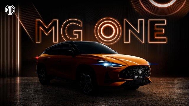 Lộ diện MG One - SUV mới toanh đấu Kia Seltos - Ảnh 1.