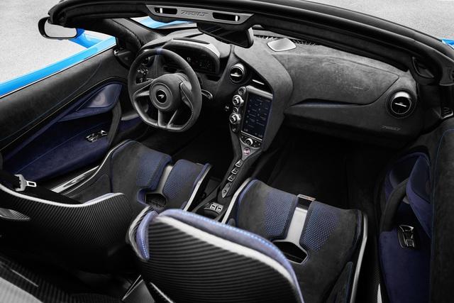 Ra mắt McLaren 765LT Spider - Xe mui trần mạnh nhất lịch sử McLaren - Ảnh 10.
