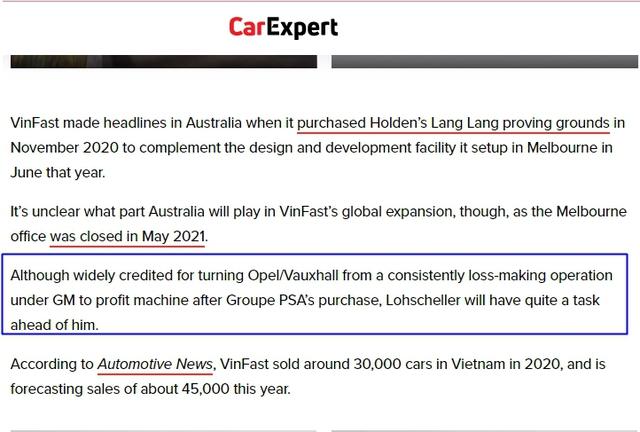 Truyền thông quốc tế: Giám đốc điều hành VinFast toàn cầu từng kéo Opel từ vực thẳm nhưng với VinFast còn nhiều điều phải làm - Ảnh 3.