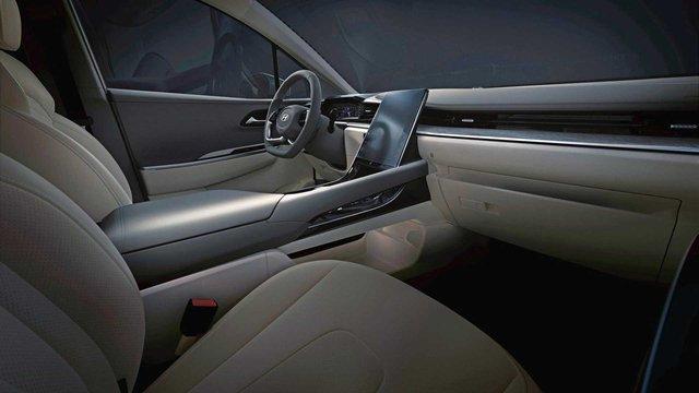 Hyundai Custo - MPV 7 chỗ từ Tucson khoe nội thất xịn xò: Có hàng ghế cho sếp như trên Kia Carnival - Ảnh 1.