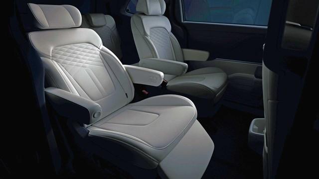 Hyundai Custo - MPV 7 chỗ từ Tucson khoe nội thất xịn xò: Có hàng ghế cho sếp như trên Kia Carnival - Ảnh 2.