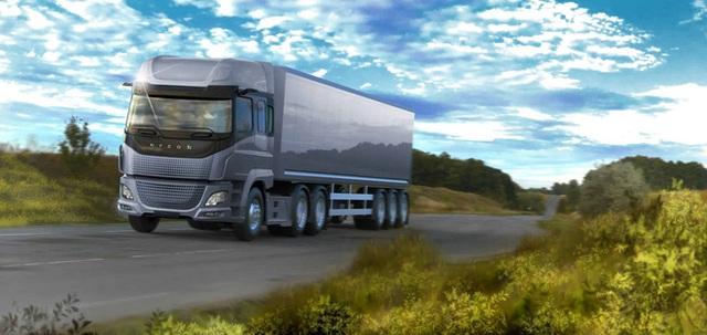 Chiếc xe tải điện có sức nặng khủng khiếp này đã đặt thêm một dấu chấm nữa cho động cơ đốt trong! - Ảnh 2.