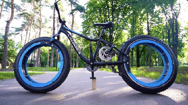 Kỹ sư thiết kế xe đạp không trục, không nan hoa mà vẫn chạy tốt - Ảnh 2.