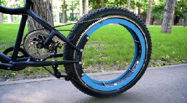 Kỹ sư thiết kế xe đạp không trục, không nan hoa mà vẫn chạy tốt - Ảnh 4.