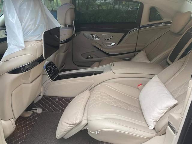 3 năm chỉ chạy 15.000km, Mercedes-Maybach S 450 cũ của Đoàn Di Băng rao bán với giá 5,9 tỷ đồng - Ảnh 6.