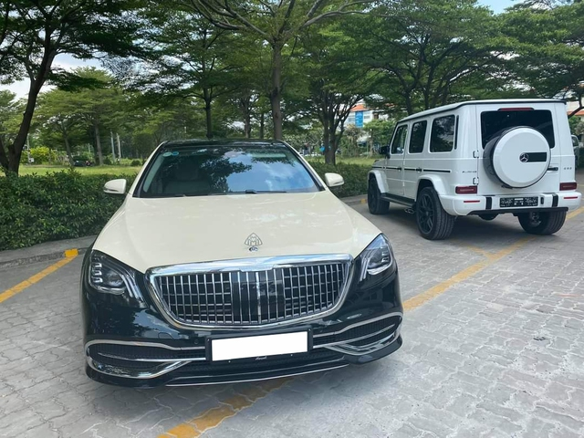 3 năm chỉ chạy 15.000km, Mercedes-Maybach S 450 cũ của Đoàn Di Băng rao bán với giá 5,9 tỷ đồng - Ảnh 1.