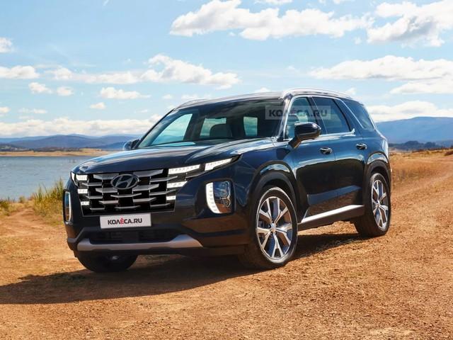 Xem trước Hyundai Palisade 2022 - SUV hàng hot được cựu Giám đốc BMW phát triển - Ảnh 1.