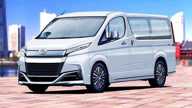 Cá mập Toyota HiAce sẽ có thêm phiên bản siêu tiết kiệm, người chạy dịch vụ bớt lo tiền xăng - Ảnh 1.