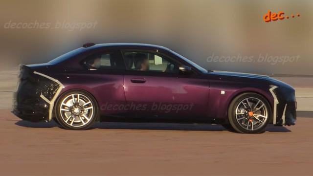 BMW 2-Series Coupe 2022 lộ diện trước ngày ra mắt - Xe chơi đích thực cho nhà giàu - Ảnh 2.
