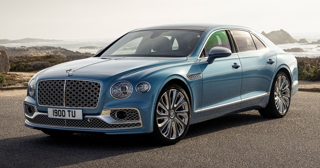 Ra mắt Bentley Flying Spur Mulliner - Bản đỉnh cao của sedan siêu sang, chạm đến đâu cũng thấy lấp lánh như kim cương - Ảnh 1.