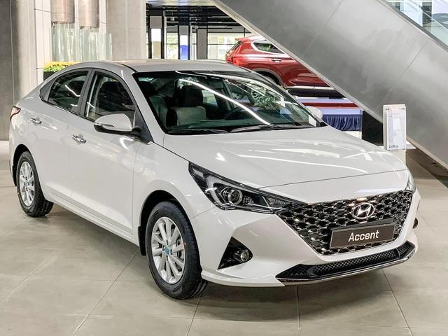 Sau VinFast, Hyundai giảm giá sốc cho khách Hải Phòng: Giá Accent ngang xe hạng A, Tucson dễ mua nhất phân khúc - Ảnh 2.