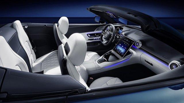 Mercedes-AMG SL lộ diện hoàn chỉnh trước ngày ra mắt - Ảnh 3.