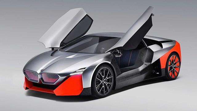 BMW Vision M Next - Mẫu xe kế nhiệm i8 một thời nức lòng đại gia Việt - Ảnh 3.