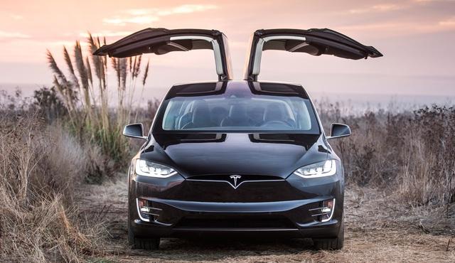 Để cửa cánh chim tung bay khi đi trong phố, chủ xe Tesla lĩnh đủ hậu quả - Ảnh 2.