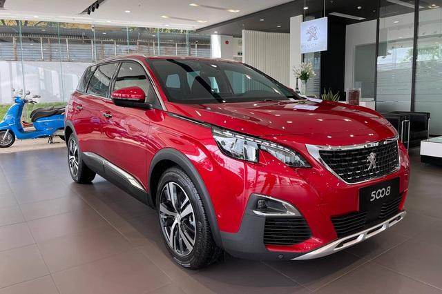 Chờ bản mới, Peugeot 5008 dọn kho giảm giá kỷ lục 155 triệu đồng tại đại lý: Còn dưới 1 tỷ đồng, ngang ngửa Honda CR-V - Ảnh 2.