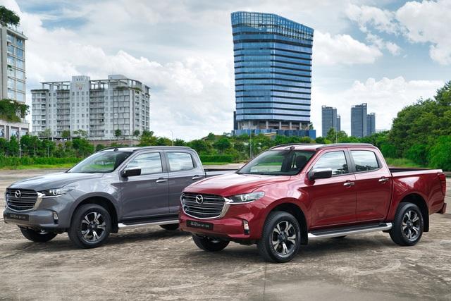 Ra mắt Mazda BT-50 2021 tại Việt Nam: Giá từ 659 triệu đồng, định hướng bán tải đi phố đấu Ford Ranger - Ảnh 1.
