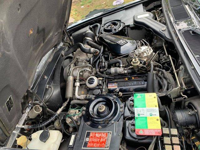 Chiếc Bentley Turbo RL 1992 độc nhất Việt Nam có giá ngang Mercedes-Benz S-Class đời mới: Gần 30 năm, đi 32.000km nhưng tình trạng vẫn còn nguyên bản - Ảnh 4.