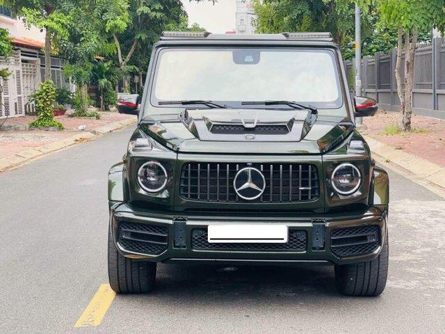 Mercedes-AMG G 63 bản 'Stronger Than Time' hiếm hoi bán lại: Ngoại thất độ Brabus hầm hố, rao giá đắt ngang xe mua mới - Ảnh 2.