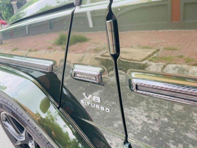 Mercedes-AMG G 63 bản 'Stronger Than Time' hiếm hoi bán lại: Ngoại thất độ Brabus hầm hố, rao giá đắt ngang xe mua mới - Ảnh 6.