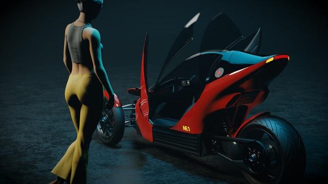 Johnny Trí Nguyễn tiết lộ hậu trường dự án mô tô tự chế: Mất 3 tuần để thiết kế người mẫu giống Nhung Kate vì muốn 'âm dương cân bằng - Ảnh 5.