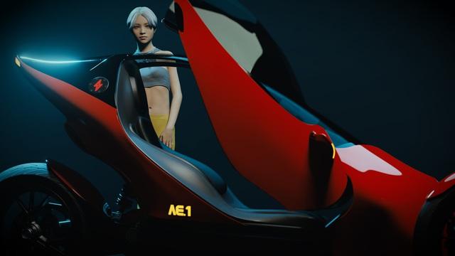 Johnny Trí Nguyễn tiết lộ hậu trường dự án mô tô tự chế: Mất 3 tuần để thiết kế người mẫu giống Nhung Kate vì muốn 'âm dương cân bằng - Ảnh 4.