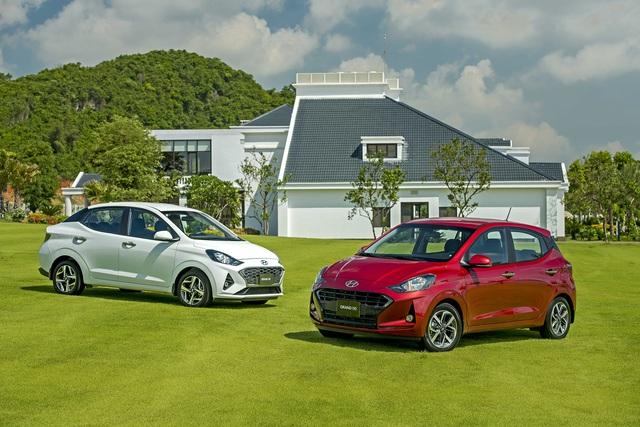 Ra mắt Hyundai Grand i10 2021 tại Việt Nam: 6 phiên bản, giá cao nhất 455 triệu đồng, áp lực mới cho Fadil và Morning - Ảnh 3.