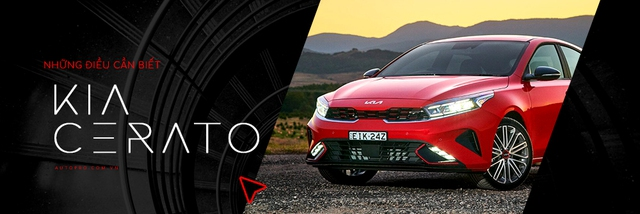 Kia Cerato 2022 ra mắt tuần sau tại Việt Nam: Đổi tên thành K3, 4 phiên bản, đại lý nhận cọc 10 triệu đồng - Ảnh 6.