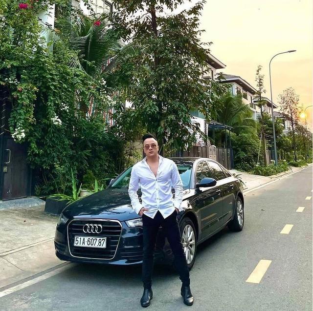 Ranh roi Cao Thai Son mang Audi A6 ra check-in nhung 7749 kieu anh deu co diem chung the nay