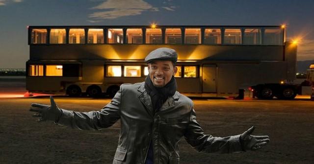 Mobihome 'siêu to siêu khổng lồ' 2,5 triệu USD của Will Smith: Biệt thự hai tầng, phòng tắm tiện nghi như spa, phòng chiếu phim như rạp hát - Ảnh 2.