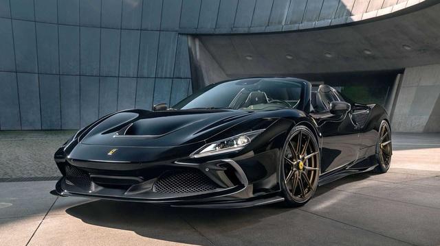 Bản độ Novitec tham khảo cho đại gia Việt đang sử dụng Ferrari F8 Spider mà không muốn đụng hàng
