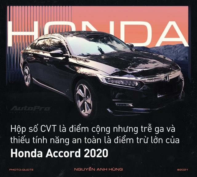 'Nghỉ chơi' với Camry, Mazda6 để tậu xe ế Honda Accord 2020, loạt người dùng nói: 'Còn điểm chê nhưng không thể thay thế' - Ảnh 2.