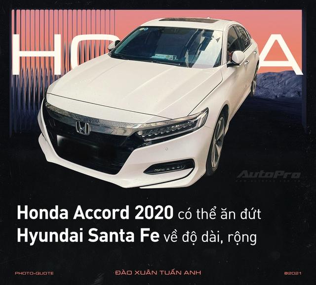 'Nghỉ chơi' với Camry, Mazda6 để tậu xe ế Honda Accord 2020, loạt người dùng nói: 'Còn điểm chê nhưng không thể thay thế' - Ảnh 4.