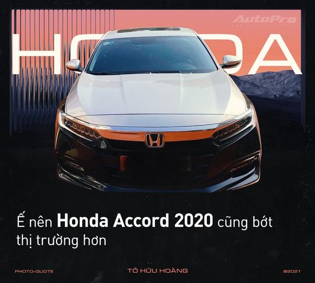 'Nghỉ chơi' với Camry, Mazda6 để tậu xe ế Honda Accord 2020, loạt người dùng nói: 'Còn điểm chê nhưng không thể thay thế' - Ảnh 5.