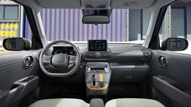 Hyundai Casper lần đầu lộ nội thất: Chiếc xe đầu tiên có ghế lái gập phẳng, giá quy đổi từ 270 triệu đồng, hot đến mức Tổng thống Hàn Quốc cũng đặt một chiếc - Ảnh 2.