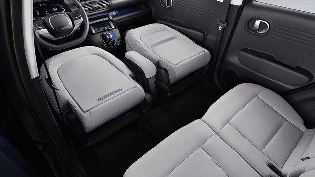 Hyundai Casper lần đầu lộ nội thất: Chiếc xe đầu tiên có ghế lái gập phẳng, giá quy đổi từ 270 triệu đồng, hot đến mức Tổng thống Hàn Quốc cũng đặt một chiếc - Ảnh 3.