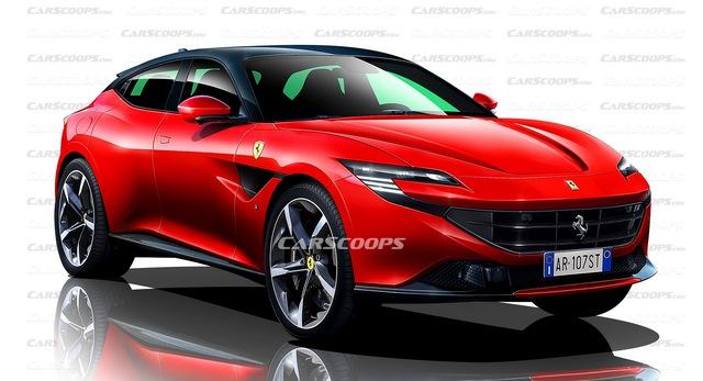Ferrari sẽ tăng áp động cơ V12: SUV đầu tiên, hậu duệ LaFerrari và 812 sẽ dễ đạt 1.000 mã lực - Ảnh 1.