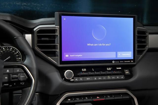 Khám phá màn hình trên Toyota Tundra 2022: Xịn và to chưa từng có, hiện đại như Lexus, có trợ lý ảo Hey Toyota - Ảnh 3.