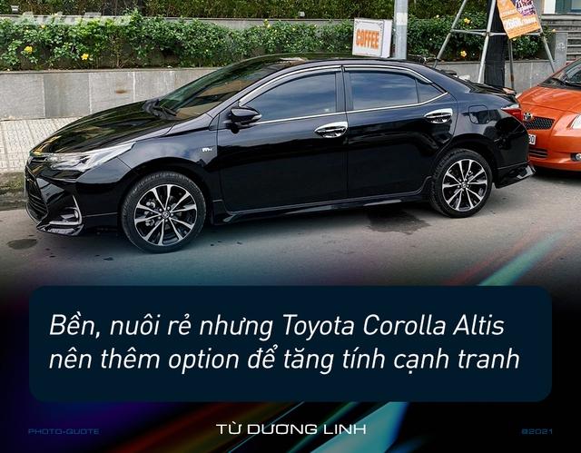 Loạt người dùng Toyota Corolla Altis: 'Giá cao nhưng nuôi rẻ, ít option nhưng nhiều không gian' - Ảnh 1.