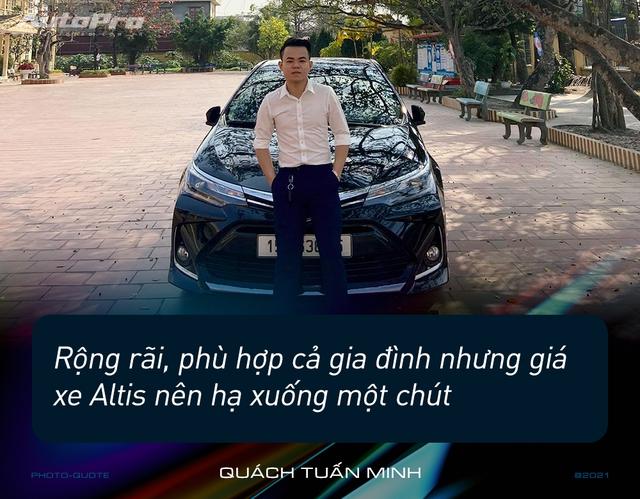 Loạt người dùng Toyota Corolla Altis: 'Giá cao nhưng nuôi rẻ, ít option nhưng nhiều không gian' - Ảnh 2.