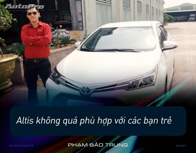 Loạt người dùng Toyota Corolla Altis: 'Giá cao nhưng nuôi rẻ, ít option nhưng nhiều không gian' - Ảnh 3.