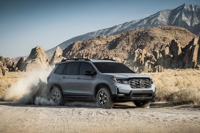Ra mắt Honda Passport 2022 - SUV cỡ trung cạnh tranh Hyundai Santa Fe và Kia Sorento - Ảnh 2.