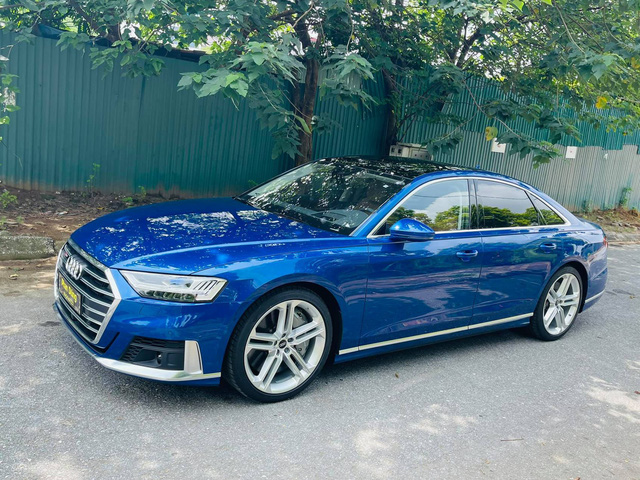 Hàng hiếm Audi S8 2021 về Việt Nam với màu độc cho đại gia mệnh Thủy - Ảnh 1.