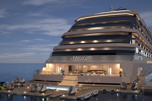 Bên trong siêu du thuyền tư nhân xa xỉ nhất thế giới, với 117 phòng nghỉ có thang máy riêng - Ảnh 2.