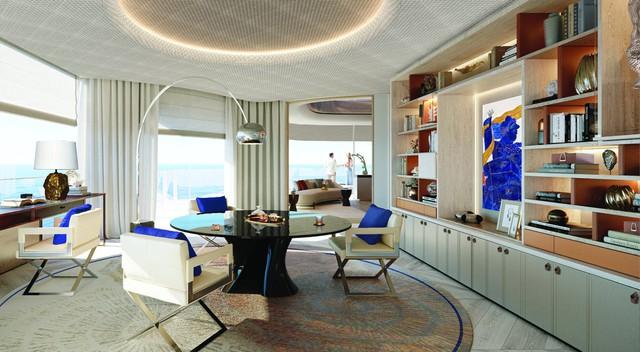 Bên trong siêu du thuyền tư nhân xa xỉ nhất thế giới, với 117 phòng nghỉ có thang máy riêng - Ảnh 5.