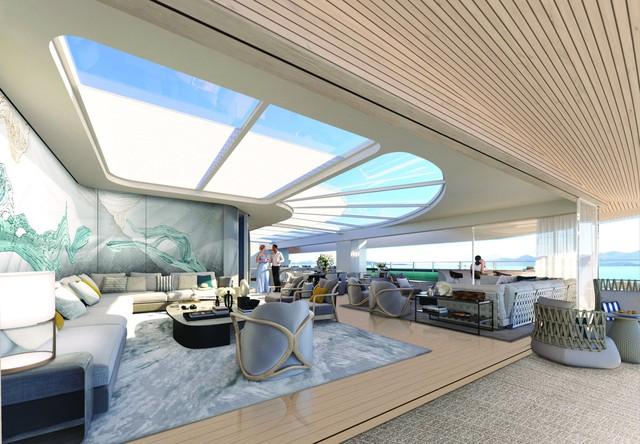 Bên trong siêu du thuyền tư nhân xa xỉ nhất thế giới, với 117 phòng nghỉ có thang máy riêng - Ảnh 6.