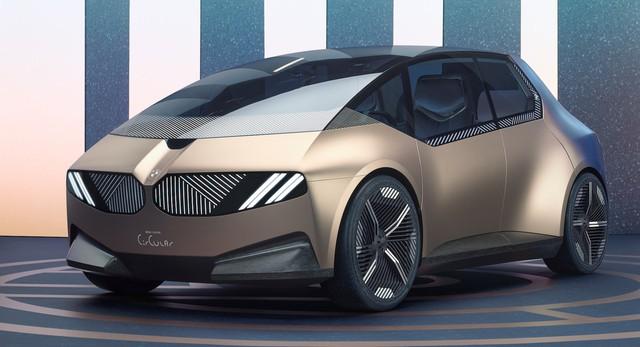 BMW i Vision Circular - Xe 4 chỗ to hơn Kia Morning, tái chế được, bên trong gây bất ngờ - Ảnh 1.