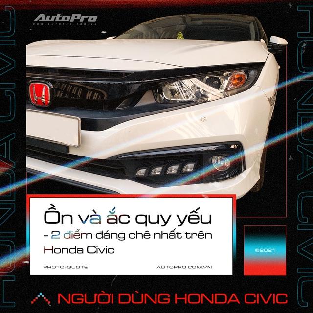 Người dùng Honda Civic: 'Mua vì giảm giá nhưng vẫn thấy nội thất không xứng tiền bỏ ra' - Ảnh 6.